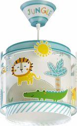 Dalber My dzieci lampa wisząca Little Jungle zwierzęta dżunglowe, tworzywo sztuczne, 60 W, kolorowa, 76112