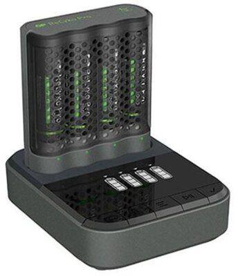 Ładowarka GP ReCyko Pro (USB) P461 + 4 akumulatory ReCyko Pro 2100 Series Ni-MH + stacja dokująca D461