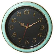 Duży zegar ścienny z tarczą 2D