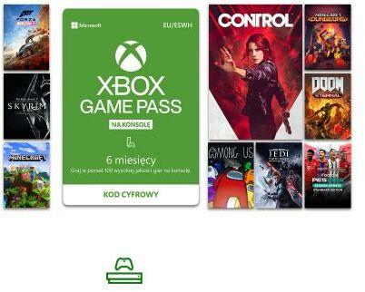 Subskrypcja Xbox Game Pass (6 m-ce) [kod aktywacyjny] Dostęp po opłaceniu zakupu