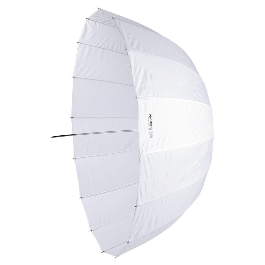 Parasolka biała transparentna Phottix Premio 120cm - WYSYŁKA W 24H