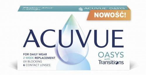 ACUVUE  OASYS with Transitions  - NOWOŚĆ