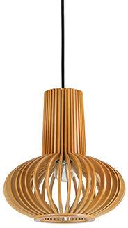 Lampa wisząca Citrus-2 SP1 159850 Ideal Lux drewniana oprawa w klasycznym stylu
