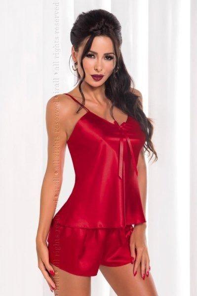 Irall aria bordowy piżama damska