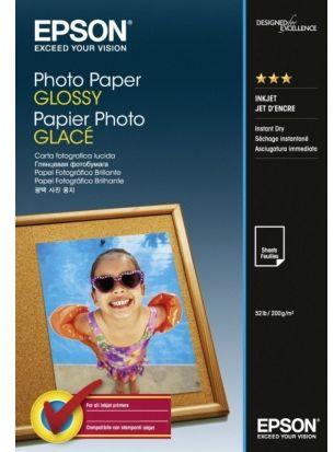Papier EPSON Photo Paper Glossy 200 g/m  - 10x15 cm / 50 arkuszy (C13S042547)