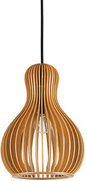 Lampa wisząca Citrus-3 SP1 159867 Ideal Lux drewniana oprawa w klasycznym stylu