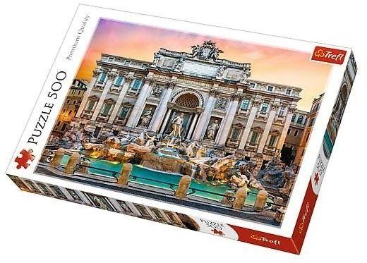 Puzzle 500 Fontanna di Trevi TREFL