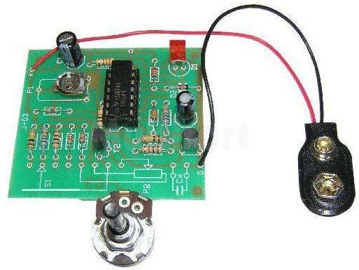 Miernik pojemności kondensatorów (do montażu)