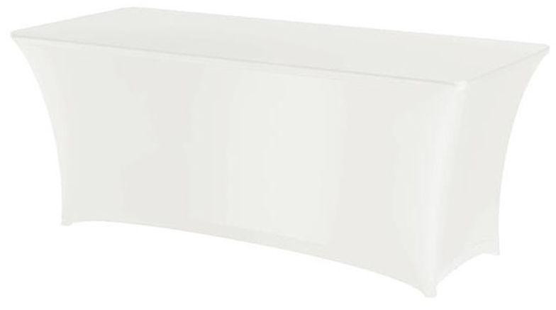 Pokrowiec na stół prostokątny SYMPOSIUM biały