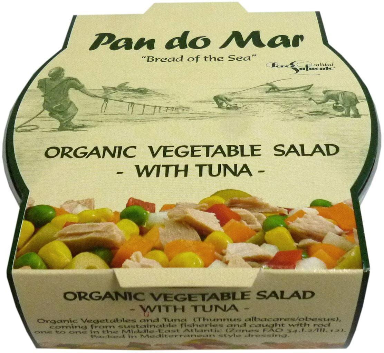 Sałatka z tuńczyka z bio warzywami 250 g - pan do mar