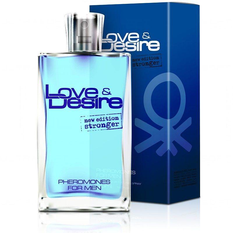 Love Desire 100ml Męskie perfumy z feromonami