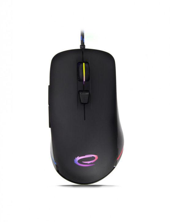 EGM501 Esperanza mysz przewod. gaming led rgb 6d opt. usb shadow