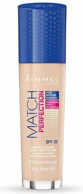 Rimmel Match Perfection - Podkład do twarzy 010 Porcelain 30ml