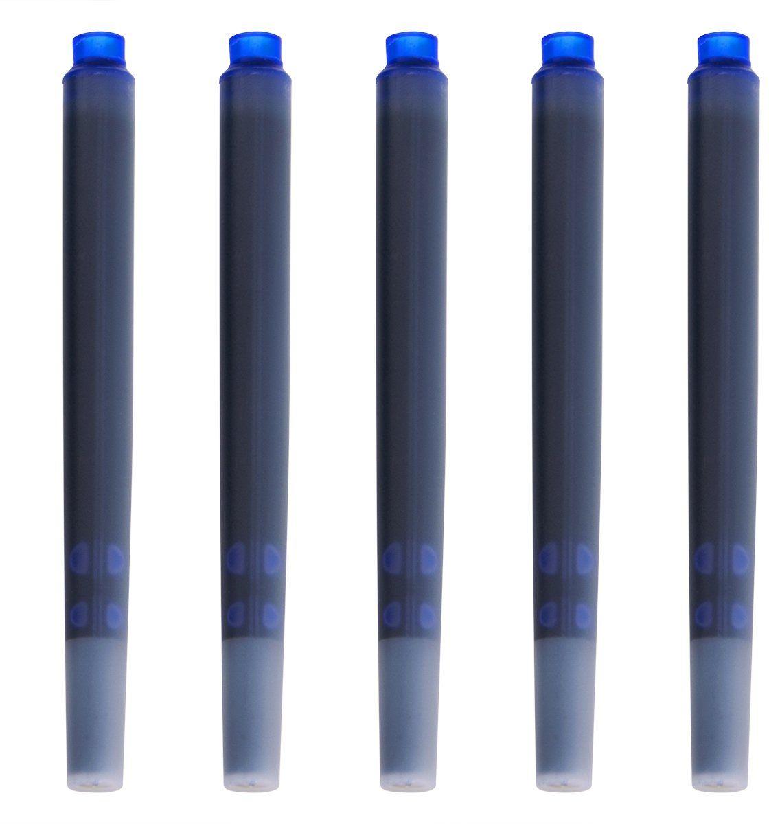 Parker naboje do pióra 5 szt, niebieskie