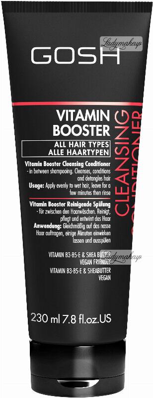GOSH - VITAMIN BOOSTER - CLEANSING CONDITIONER - Hybrydowa odżywka myjąca do włosów