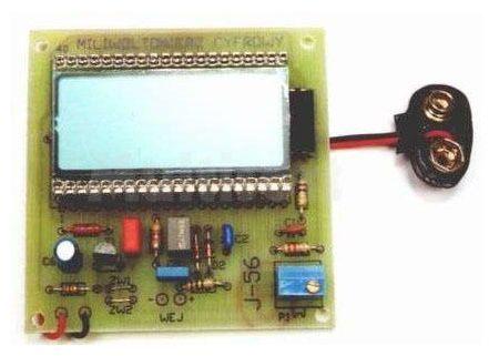 Miliwoltomierz LCD (do montażu)