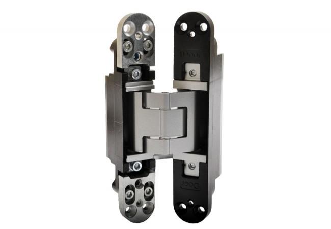 Zawias SIMONSWERK TECTUS TE540 3D 200x32 mm, ALU F1 - chrom satyna (skrzydło do 120kg)