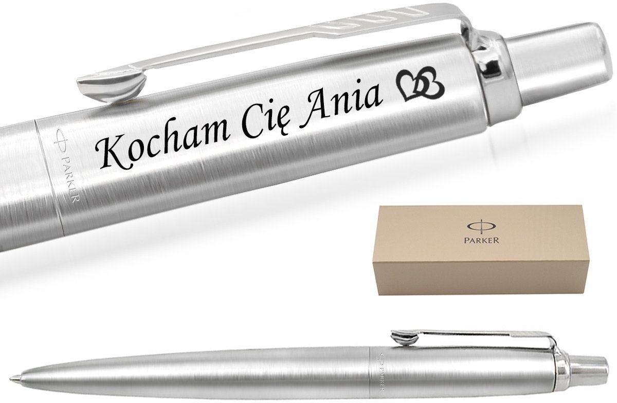 Długopis PARKER Jotter stalowy CT Twój GRAWER