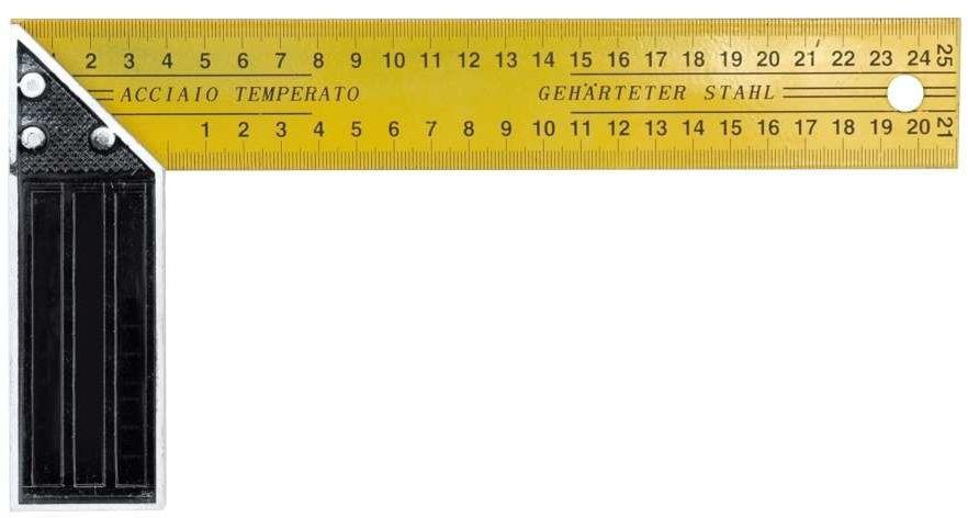 Kątownik stolarski 250 mm Vorel 18250 - ZYSKAJ RABAT 30 ZŁ