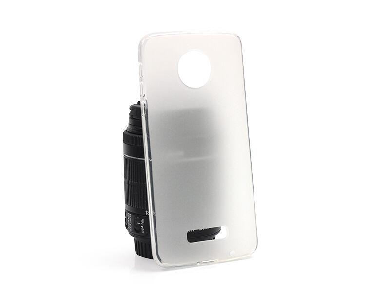 Lenovo Moto Z - etui na telefon FLEXmat Case - biały