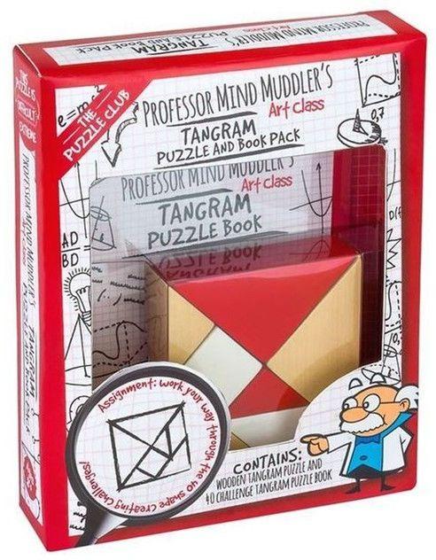 Łamigłówka Professor Mind Muddlers Tangram ZAKŁADKA DO KSIĄŻEK GRATIS DO KAŻDEGO ZAMÓWIENIA