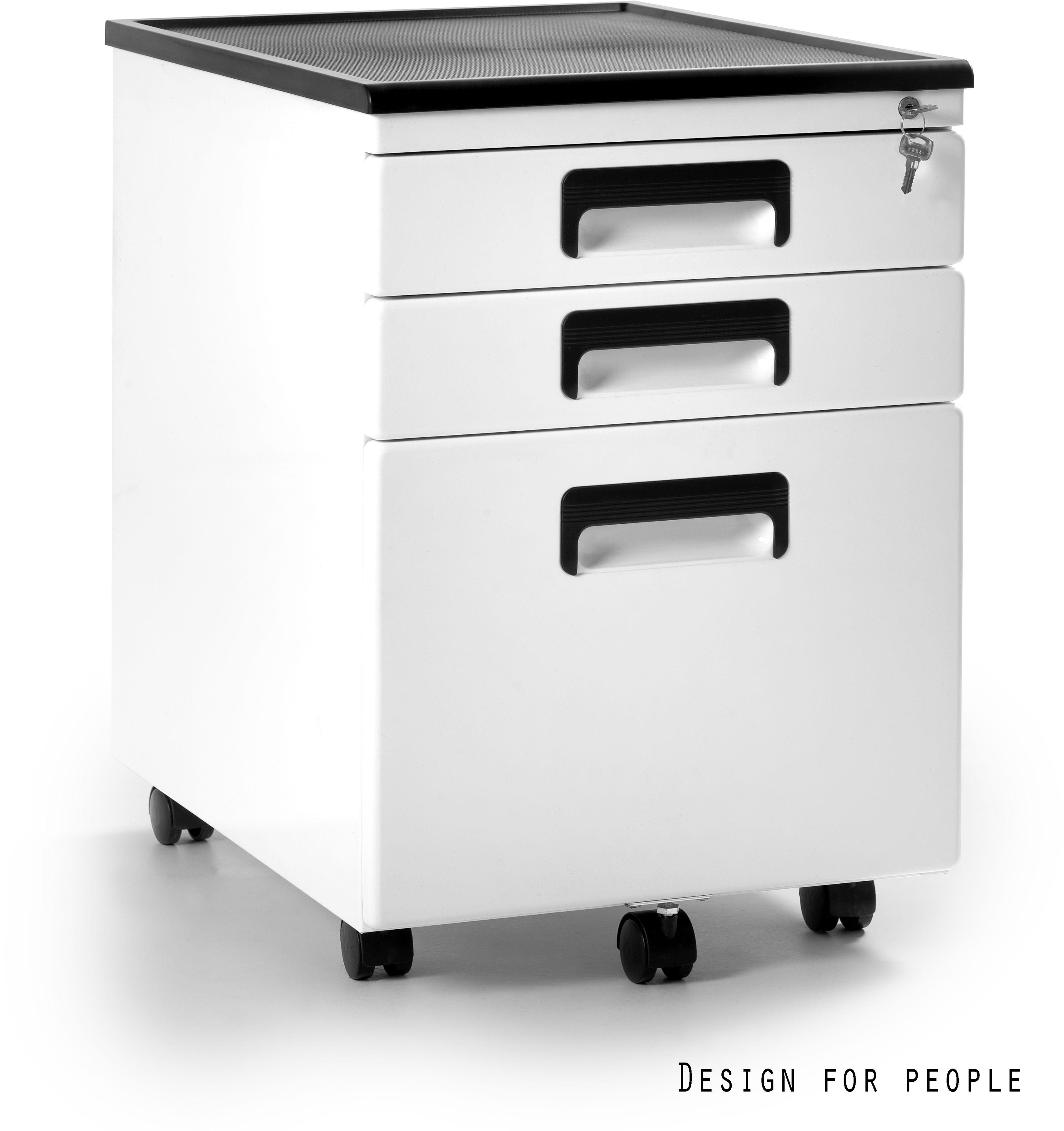 Kontener biurowy 40x56x58 cm 324-W biały