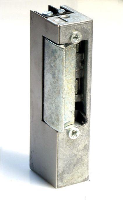 Elektrozaczep JiS serii 800 model 843 w wyłącznikiem i pamięcią wewnętrzną 12V AC/DC
