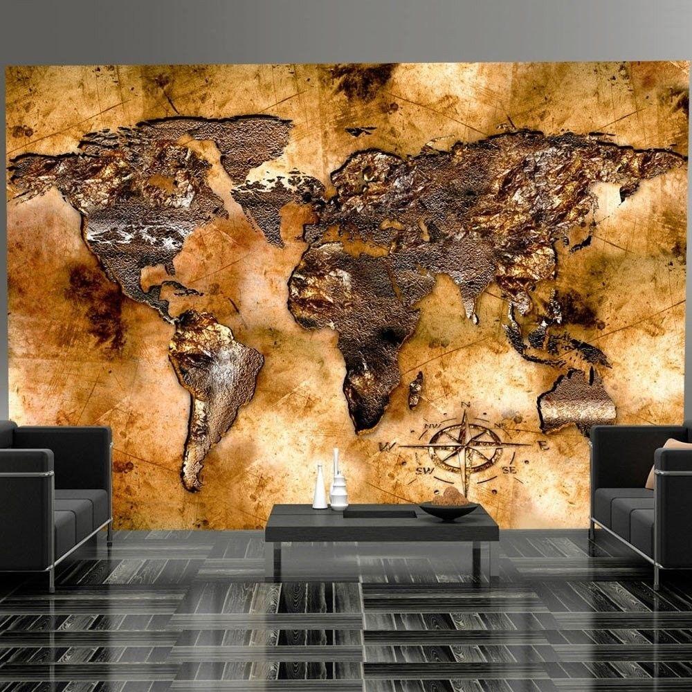 Fototapeta - opalizujące kontynenty