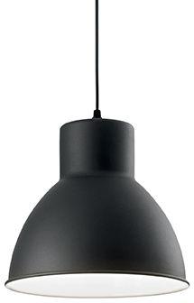 Lampa wisząca Metro SP1 139098 Ideal Lux czarna oprawa w nowoczesnym stylu