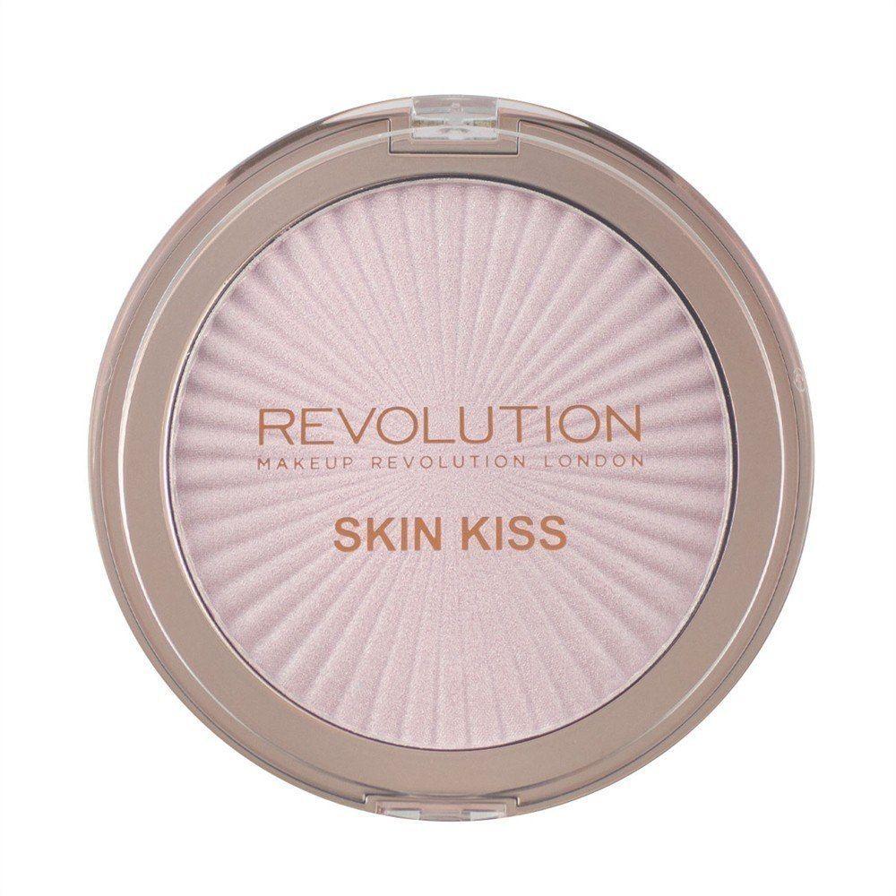 Make Up Revolution Makeup Revolution Rozświetlacz do twarzy Retro Skin Kiss Pink Kiss, 14 g
