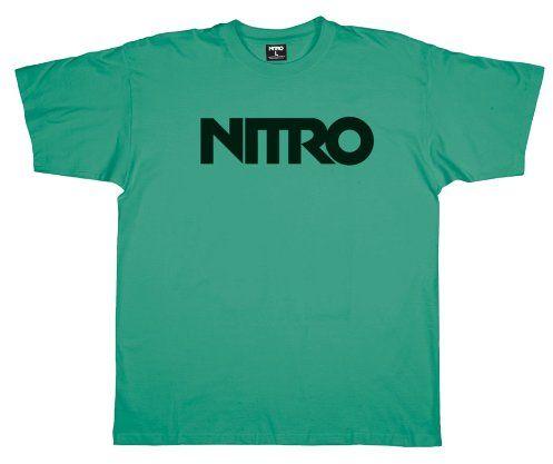 Nitro Wordmark dziecięcy T-shirt zielony rozmiar: XL