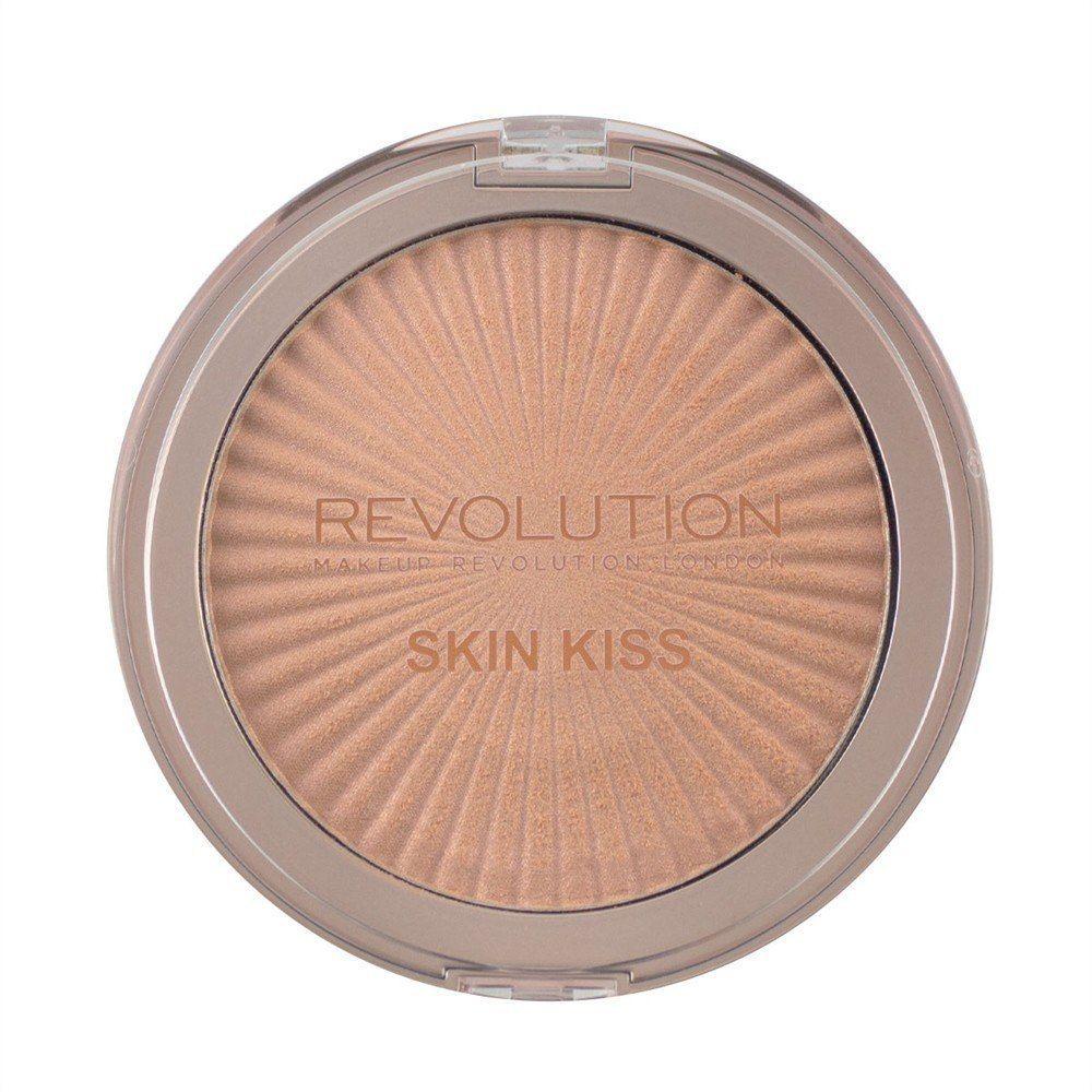 Make Up Revolution Makeup Revolution Rozświetlacz do twarzy Retro Skin Kiss Rose Gold Kiss, 14 g