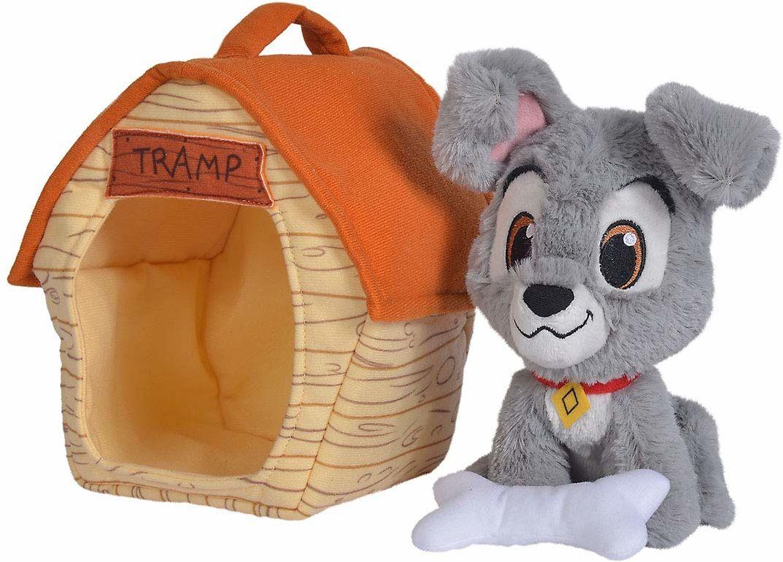 Simba 6315876451 Disney Strolch z chatą dla psa, 20 cm
