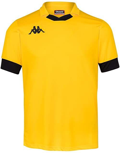 Kappa Męska koszulka polo Tranio żółty żółty/czarny 3XL