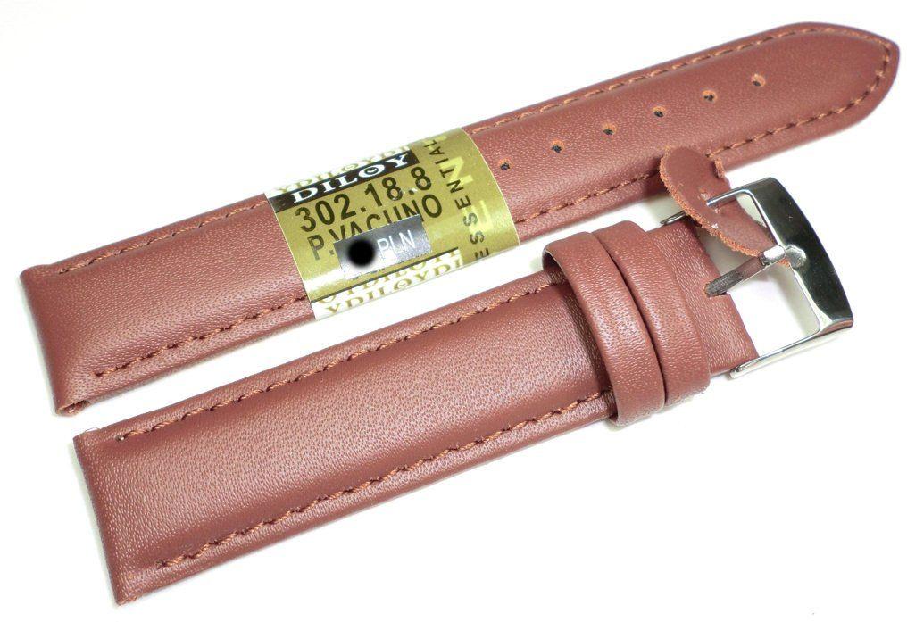 Skórzany pasek do zegarka 18 mm Diloy 302.18.8