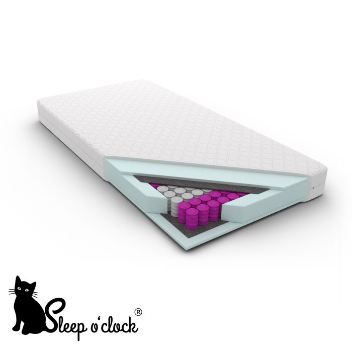 materac kieszeniowy pocket MAURICIO sleep o''clock 200x200 H2