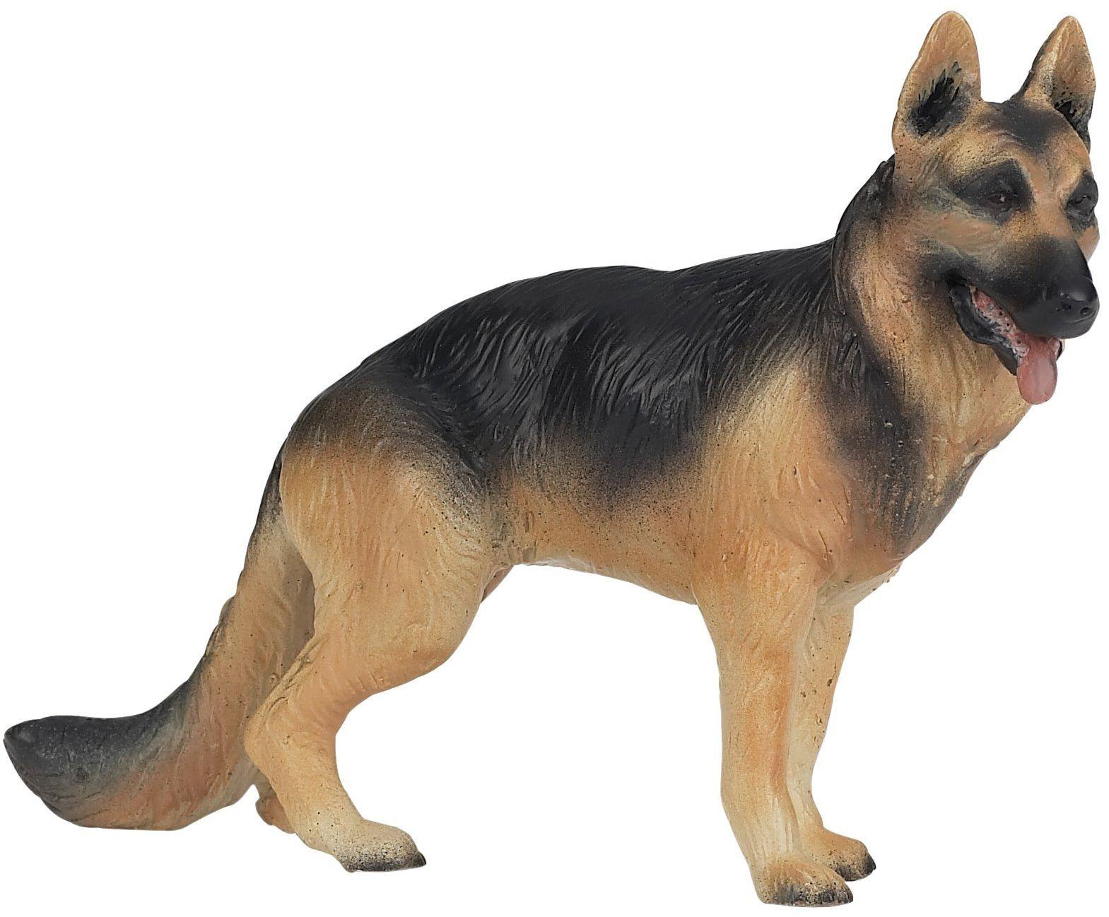Papo 54004 figurka owczarka niemieckiego koty i psy, wielokolorowa