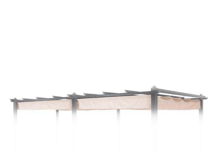 Blumfeldt Pantheon Roof dach zapasowy 3 x 6 m kolor beżowy