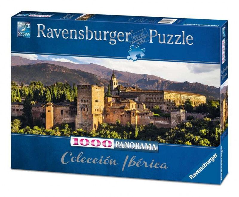 Puzzle 1000 elementów Panorama Alhambra, Granada (GXP-761328)