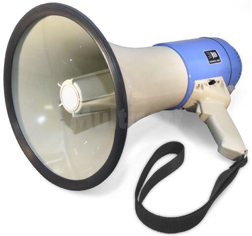 Megafon 25W z wbudowanym mikrofonem