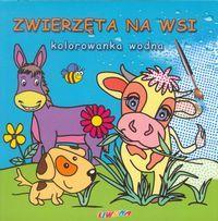 Zwierzęta na wsi Kolorowanka wodna