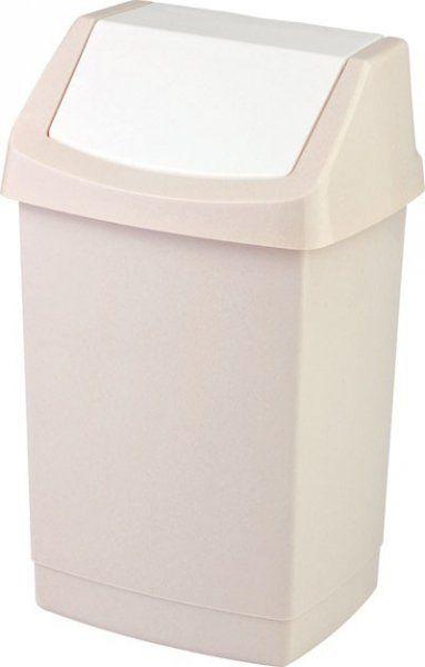Kosz na śmieci Click-It 15L beżowy