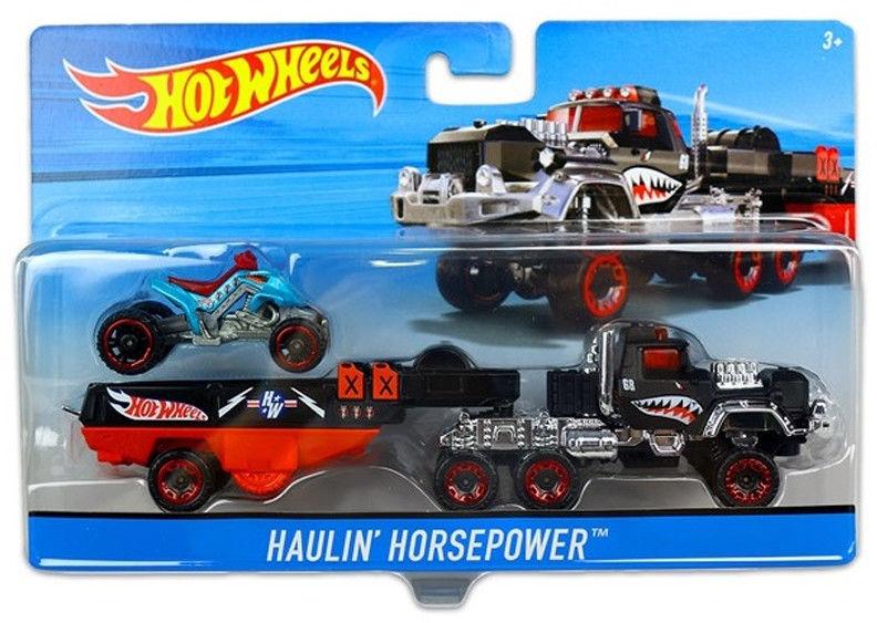 Hot Wheels - Ciężarówka Haulin Horsepower DXB44