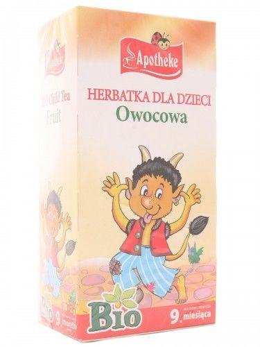 Apotheke Herbatka Bio dla dzieci owocowa - 20 saszetek