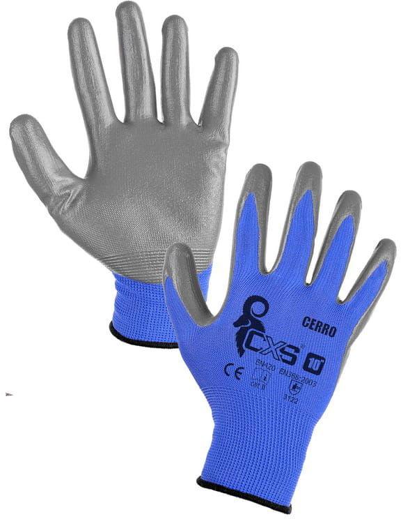 Rękawice robocze CERRO CXS nitryl