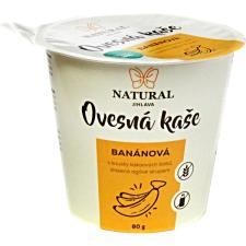 Owsianka bezglutenowa z bananami i ziarnami kakao 80g NATURAL