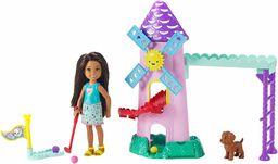 Mattel Barbie  Chelsea lalka i mini zestaw do gry w golfa