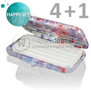 WOSK ortodontyczny kalibrowany bezzapachowy - ZESTAW promocyjny HappySET 4+1 wosk gratis