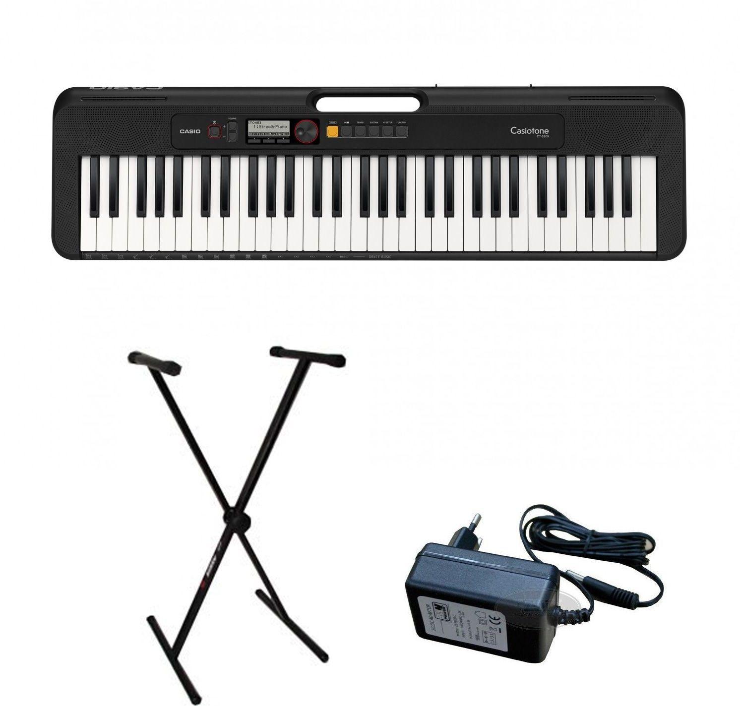 Casio CT-S200 - keyboard + statyw - Zacznij spłacać ZA 4 MIESIĄCE