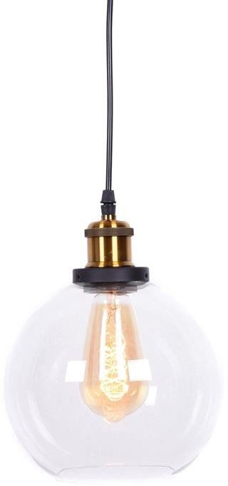 Lumina Deco Navarro loftowa przezroczysta lampa wisząca